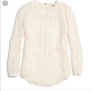 Madewell Peter Pan blouse